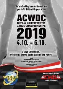 Austrian Country Western Dance Championships 2019